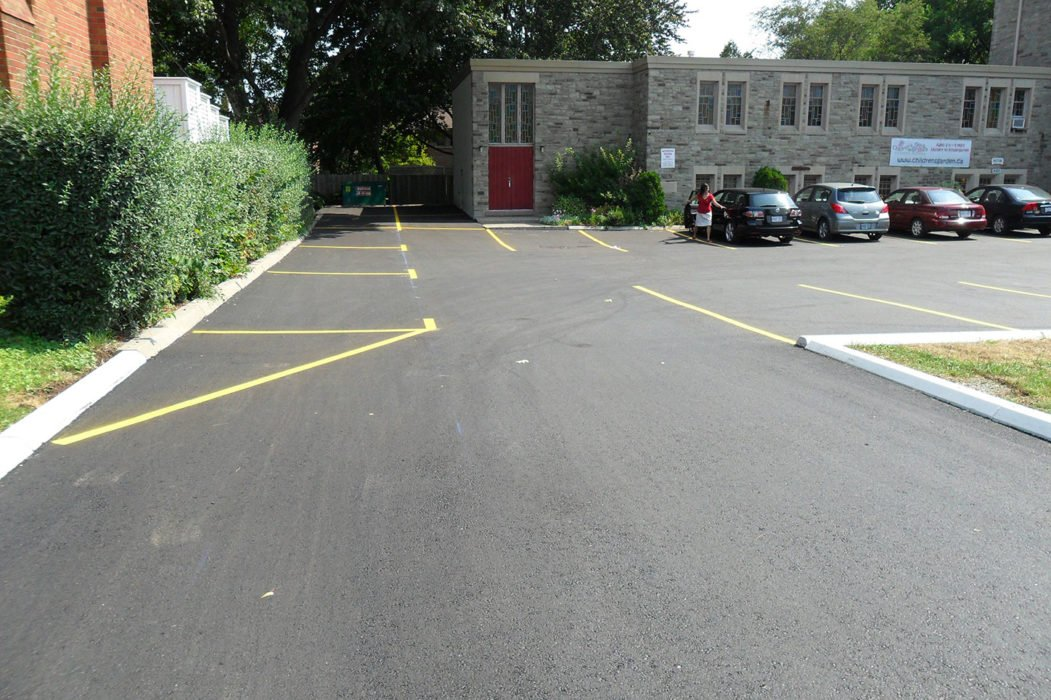private location project commercial paving Contractor toronto